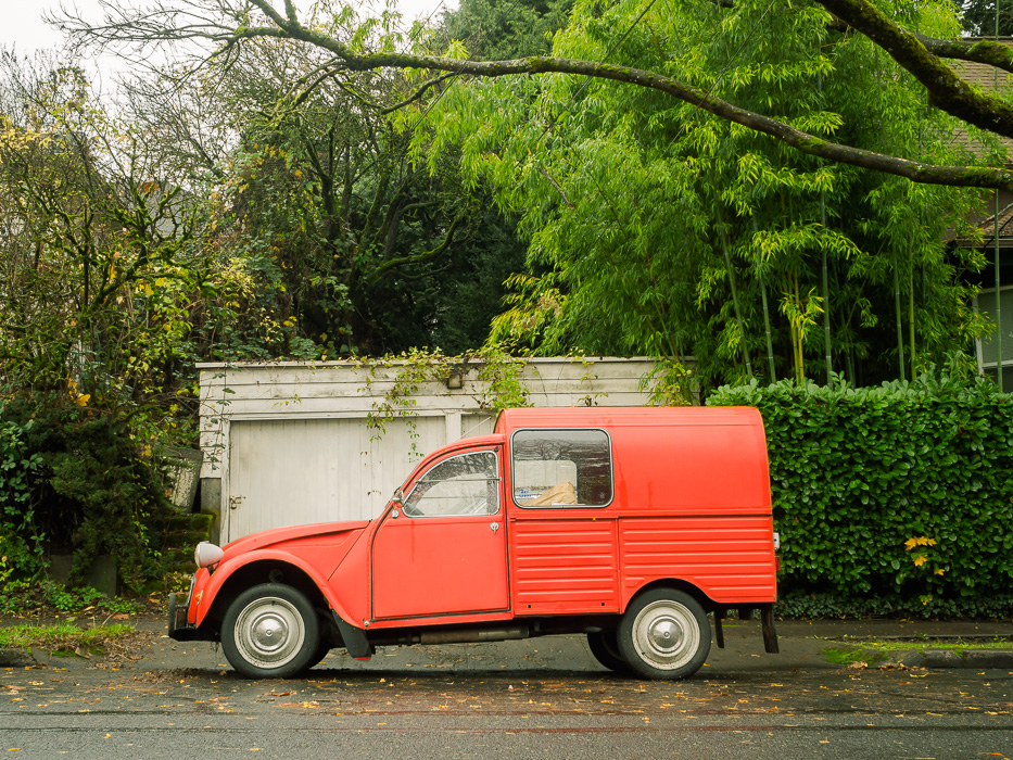 Red Truck Portland by Susanne Sasic